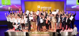 (c) www.annarauchenberger.com / Anna Rauchenberger – Wien, 31.05.2017 - Quality Austria Winners Conference und Verleihung Staatspreis Unternehmensqualitaet im Studio 44 der Oesterreichischen Lotterien. FOTO: Alle Preistraeger